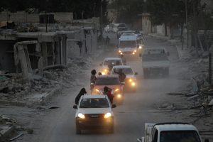 Sirijoje sukilėliams apšaudant mokyklą žuvo penki vaikai