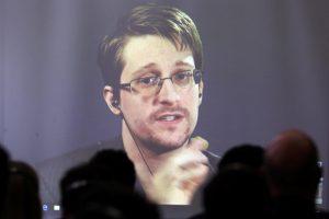 Maskvoje prieglobstį radusiam E. Snowdenui įteiktas norvegų organizacijos prizas