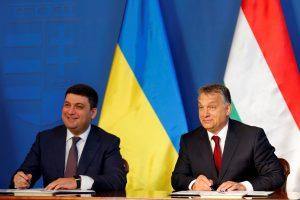 Vengrija išduos ilgalaikes vizas Ukrainos piliečiams
