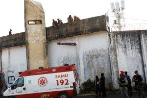 Brazilijos kalėjime, kur buvo nužudyti 26 žmonės, tebesitęsia maištas