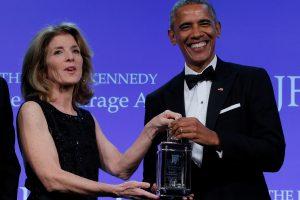B. Obama įvertintas už politinę drąsą