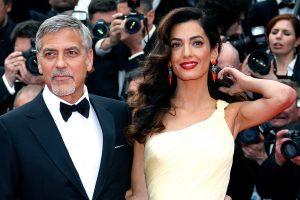A. Clooney pagimdė dvynius