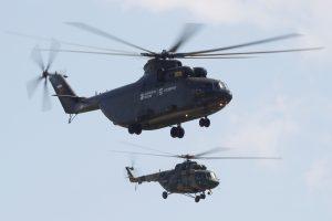 Virš Arkties vandenyno nukrito rusų sraigtasparnis, kuriuo skrido aštuoni žmonės