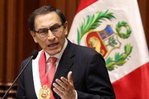 M. Vizcarra prisaikdintas naujuoju Peru prezidentu