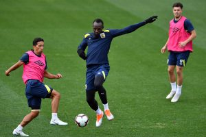 Jau tuoj: U. Boltas ruošiasi debiutui futbole