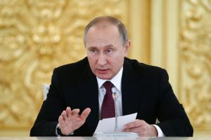 V. Putinas derėsis su apsišaukėliškų Rytų Ukrainos respublikų lyderiais
