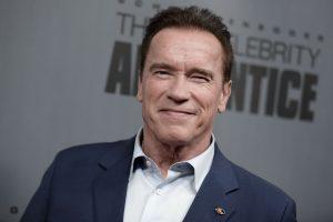 """A. Schwarzeneggeris pakeitė D. Trumpą projekte """"Mokinys: garsenybių kalvė"""