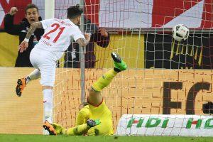 """Bundeslyga: """"Hoffenheim"""" paskutinę minutę išplėšė lygiąsias"""
