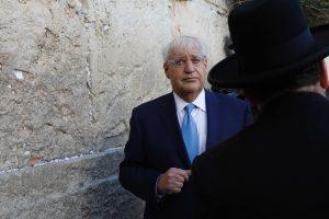 Kontroversiškasis JAV ambasadorius atvyko į Izraelį