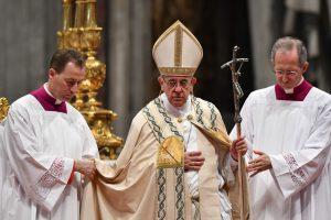 Popiežius Pranciškus paskyrė penkis naujus kardinolus