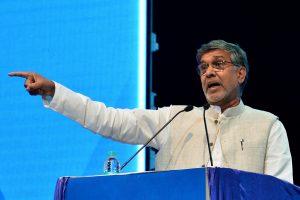 Nobelio taikos premijos laureatas iš Indijos pradėjo žygį už išnaudojamus vaikus