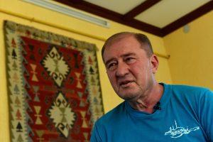 Rusijos teismas pasiuntė už grotų vieną iš Krymo totorių lyderių