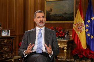 Ispanijos karalius Katalonijos politikams palinkėjo vengti konfrontacijos