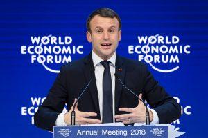 E. Macronas: Prancūzija investuos į novatoriškumą