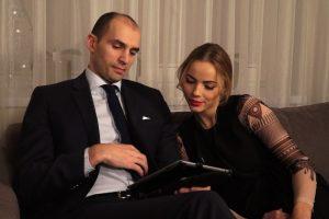 R. Alijevas apie savo žmoną: ji princesė, o aš jai uždedu tą karūną