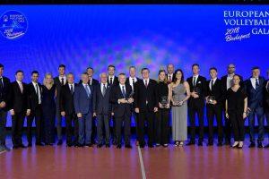 Europos tinklinio apdovanojimuose skambėjo ir lietuviškos pavardės