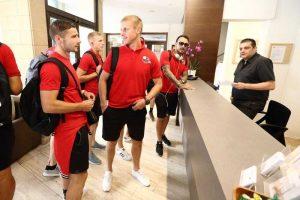 """Marijampolės """"Sūduvą"""" Kipre pasitiko 36 laipsnių karštis"""