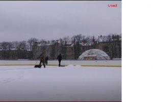 Vilniuje ruošiama didžiulė lauko čiuožykla