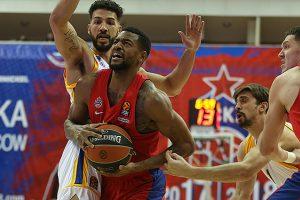 CSKA krepšininkai Eurolygoje iškovojo 11-ąją pergalę