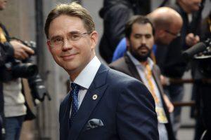 Atsistatydinęs Suomijos premjeras paskirtas ES ekonomikos komisaru