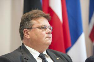 L. Linkevičius su ES ministrais diskutuos dėl saugumo politikos