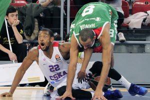 Traumų išretinta CSKA ekipa krito Vitorijoje