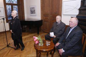 Nepažintas J. Marcinkevičius: knygų sutiktuvėse kalbėjo ir dukra