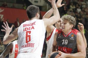 Rezultatyvus M. Kuzminsko žaidimas pergalės Milano ekipai neatnešė