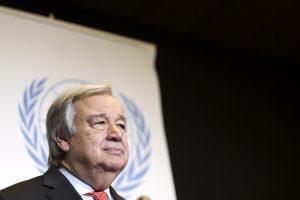 JT generalinį sekretorių JAV sprendimas privertė susirūpinti
