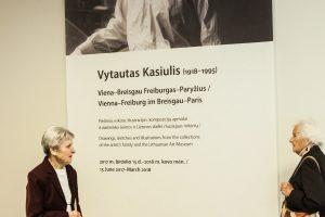 Vilniuje perlaidotas dailininkas V. Kasiulis