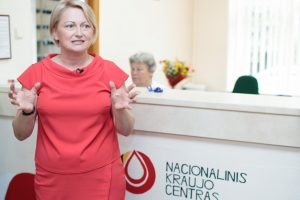 STT sulaikė Kraujo centro vadovę J. Bikulčienę