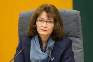R. Baškienė: Seimo narys neturėtų slėptis už parlamentaro mandato