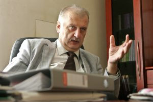 Tarnybą baigia Vilniaus apygardos prokuroras R. Jancevičius