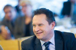 Vilniaus taryba nepatvirtino J. Kaminskio Kontrolės komiteto pirmininku