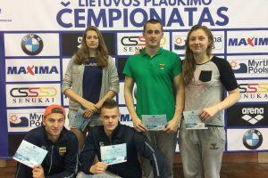 Plaukimo čempionate – favoritų pergalės, R. Meilutytė finale plaukti atsisakė