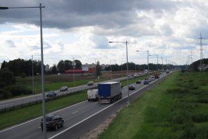 Tartasi, kaip bus rekonstruojama kelio Vilnius-Klaipėda atkarpa Kaune