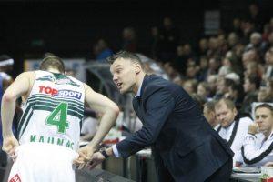 """Š. Jasikevičius pasirašė ilgalaikę sutartį su """"Žalgiriu"""" ir pasikvietė asistentą"""