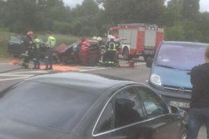 Jonavos rajone per avariją žuvo vairuotojas