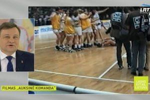 Per LRT KULTŪRĄ – filmas apie Lietuvos krepšininkių triumfą 1997-aisiais
