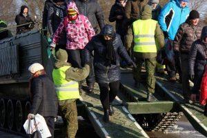 Kariai lieka Šilutės rajono potvynio vietoje ir toliau teiks paramą gyventojams
