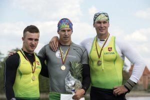 Kanojininkui V. Korobovui - pasaulio jaunimo pirmenybių sidabras sprinto rungtyje
