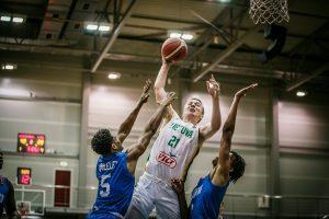 18-mečiai Lietuvos krepšininkai Europos čempionate šventė trečiąją pergalę