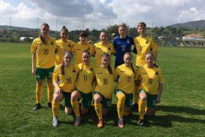Lietuvos moterų futbolo rinktinė pralaimėjo Kiprui