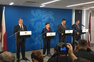 S. Skvernelis: Baltijos šalys sutarė dėl sinchronizacijos per Lenkiją