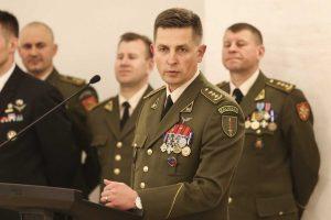 Lietuvos kariuomenės Specialiųjų operacijų pajėgų vadu tapo pulkininkas M. Mažonas