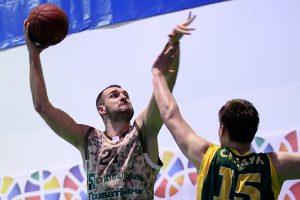 """M. Anisimovas """"Ventspils"""" komandai pelnė 10 taškų, o jo ekipa šventė pergalę"""