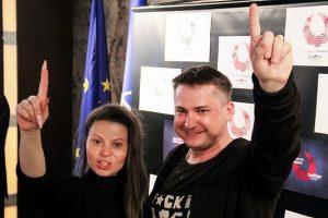 """Grupei """"Fusedmarc"""" – Krymo totorės ir populiariausio Ukrainos rašytojo palaikymas"""