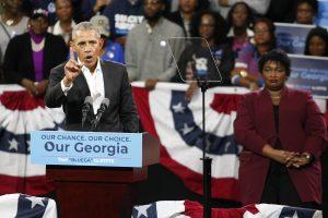 B. Obama ragina amerikiečius dalyvauti Kongreso rinkimuose