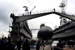 Trys raketomis ginkluoti Rusijos laivai iš Baltijos jūros siunčiami į Juodąją