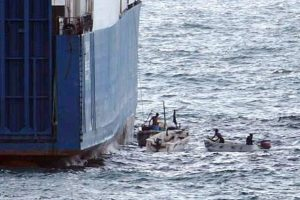 Nigerijoje pagrobti jūreiviai rusai ir ukrainietis jau išgelbėti